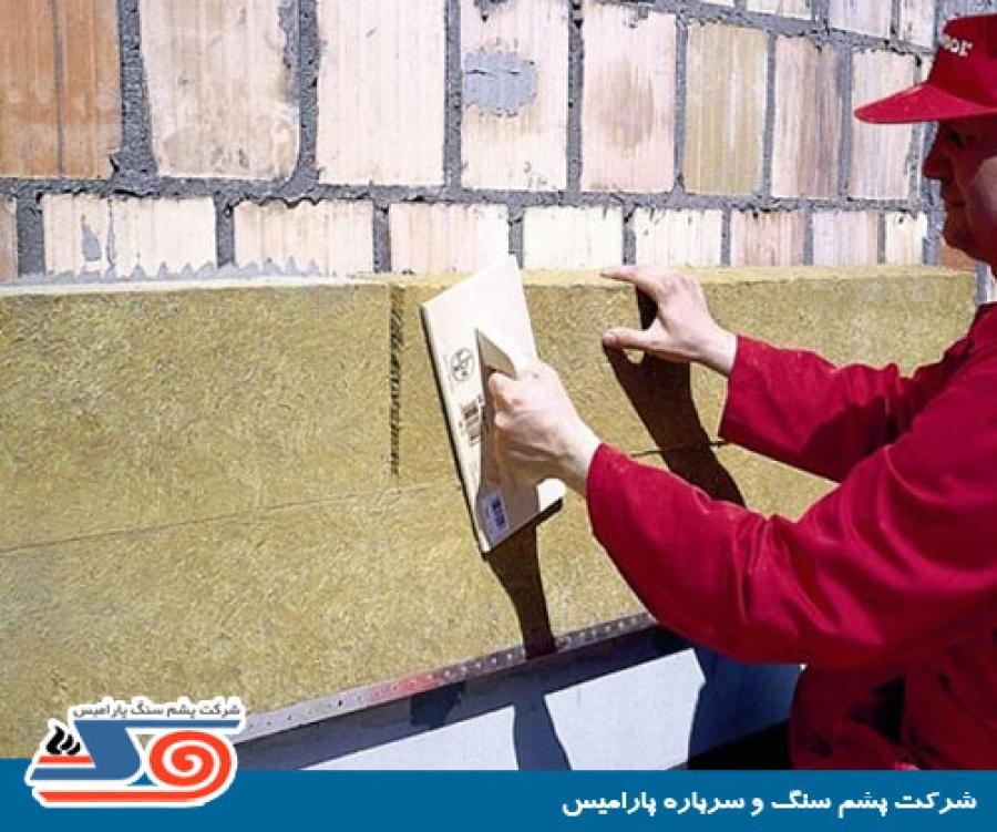 نحوی اجرای عایق حرارتی و روش های عایق کاری ساختمان - پشم سنگ ...نحوی اجرای عایق حرارتی و روش های عایق کاری ساختمان